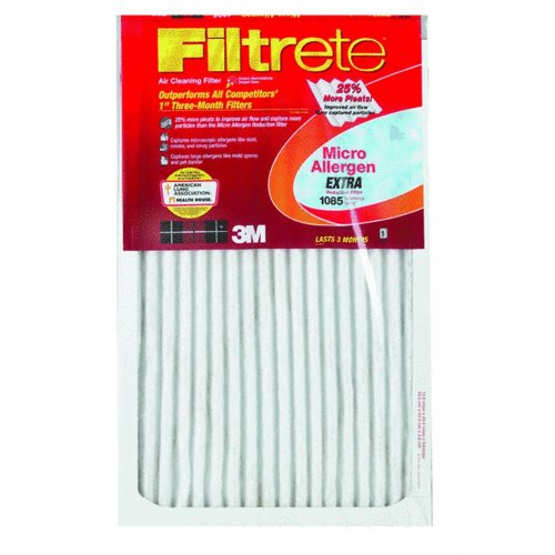 3m 16in. X 25in. X 1in. Filtrete Micro Allergen Reduction Filter  9801DC-6 - Pack of 6 JNSN45048