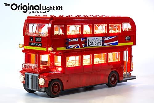 Brick Loot Lighting Kit for Your Lego London Bus Set 10258 Set (Lego Set Not Included) (London Lego Bus)
