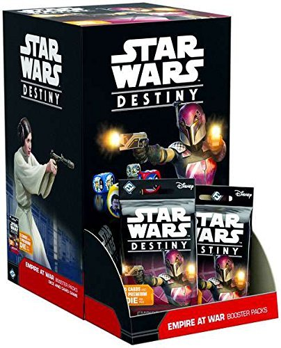 - Fantasy Flight Games Star Wars Destiny: Empire at War Booster Pack Display (36)