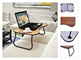 NEW Portable Folding Lap Desk Standing Computer Laptop Table Bed