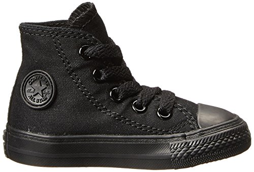 Chuck Children's Black Star Trainers Taylor Monochrome Hi Unisex Converse All dRfFdq