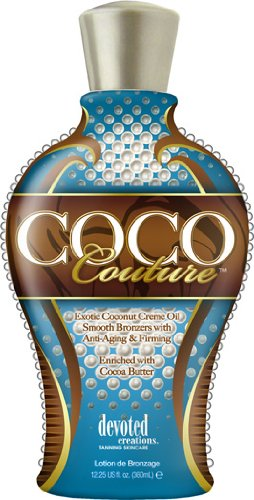 Brand New - DEVOTED CREATIONS - COCO COUTURE- Exotic Coconut Crème Oil lotion HealthMarket DCCC12