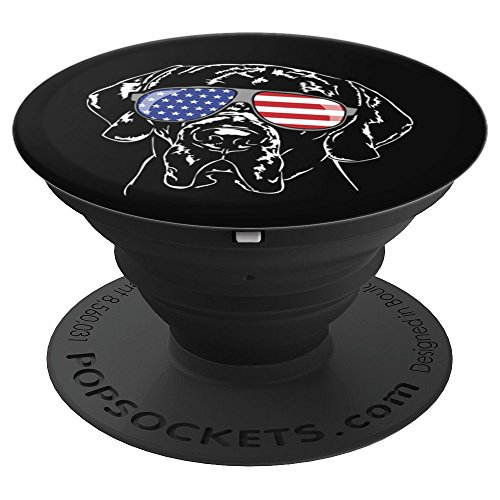 Funny Proud Great Dane American Patriotic dog breed gift - PopSockets Grip and Stand for Phones and Tablets