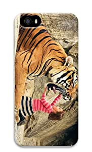 cover popular say aah tiger PC Case for iphone 5/5S