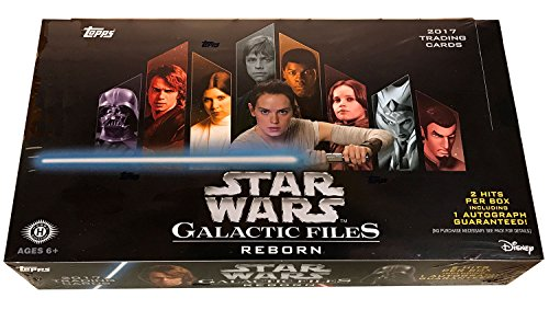 Topps Star Wars Galactic Files: Reborn Hobby Box (Heroes Sketch Cards)