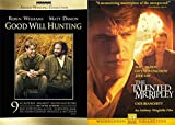 Matt Damon 2-Movie Collection - Good Will Hunting & The Talented Mr. Ripley 2-DVD Bundle