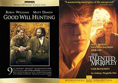 Matt Damon 2-Movie Collection - Good Will Hunting & The Talented Mr. Ripley 2-DVD Bundle
