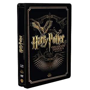 Pack Harry Potter Colección Completa - Edición Golden Steelbook [DVD]