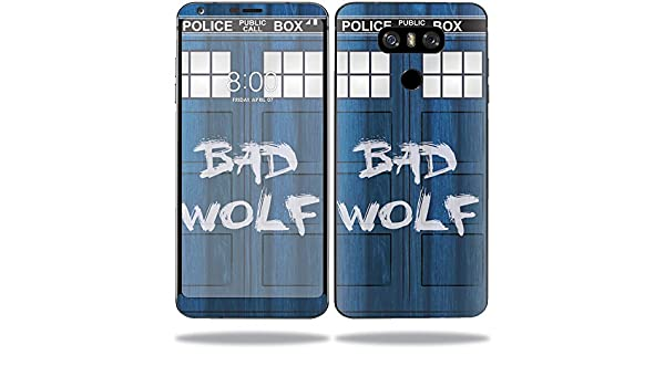 932cce897f Amazon.com: MightySkins Skin for LG V40 ThinQ - Time Lord Box | Protective,  Durable, and Unique Vinyl Decal wrap Cover | Easy to Apply, Remove, ...