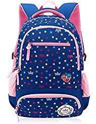 Bookbag for Elementary School Girls and Boys Big Student Waterproof Classics Backpack