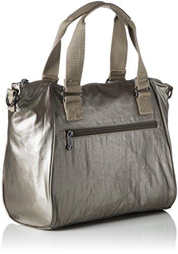 Women��s Handbag Gold L34 Pewter Metallic Amiel Kipling Tq70x1q