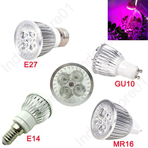5W LED Plant Grow Light Bulb Lamp For Horticulture Flowering Plant (MR16(12V DC))