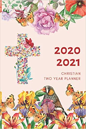 2 Year Planner 2020-2021 Christian Two Years Monthly ...