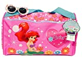 Disney Little Mermaid Ariel Duffle Gym Diaper Bag and One Stylish Sunglasses Set