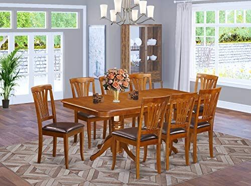 9 Pcformal Dining room set-Dining Table and 8 Dining Chairs