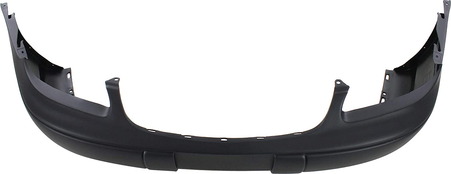 Front Bumper Cover Compatible with 1997-2003 Chevrolet Malibu//Classic 2004-2005 Primed with Fog Light Holes