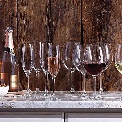 Lenox Tuscany Classics Set, Champagne Flutes, Buy 4, Get 6, 3.25 LB, Clear