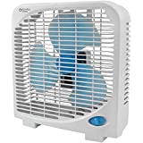 COMFORT ZONE CZ9BAS 9, 2-Speed Portable Box Fan