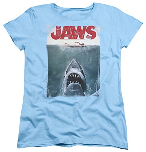 Trevco - Jaws Title Ladies T-Shirt (Large)