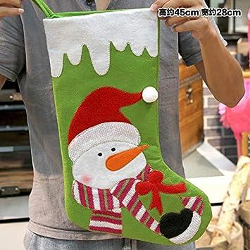 VHVCX Natale Hanging Natale Calze Grandi Idee Regalo Natale ...