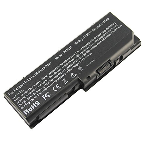 Fancy Buying Battery For Toshiba Satellite P200 series replace PA3536U-1BRS , PA3537U-1BAS , PA3537U-1BRS , PABAS100 , PABAS101 series Ac Laptop Notebook Main Battery - (6 Cells 10.8V 5200mAh)