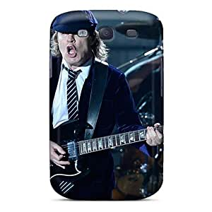 Protector Hard Phone Covers For Samsung Galaxy S3 With Customized HD Ac Dc Band Pictures CristinaKlengenberg