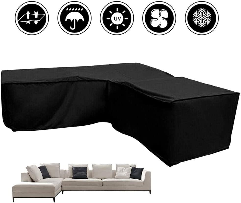 Better Homes And Gardens Replacement Cushions Azalea Ridge, New Soul L Shaped Cover Patio Sofa Furniture Couch Cover Waterproof Dustproof Polyester Garden Corner Sofa Couch Protector Cover With Storage Bag Black 300x300x90cm