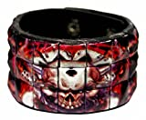 Search : Punk Wristband Printed Skulls & Dices