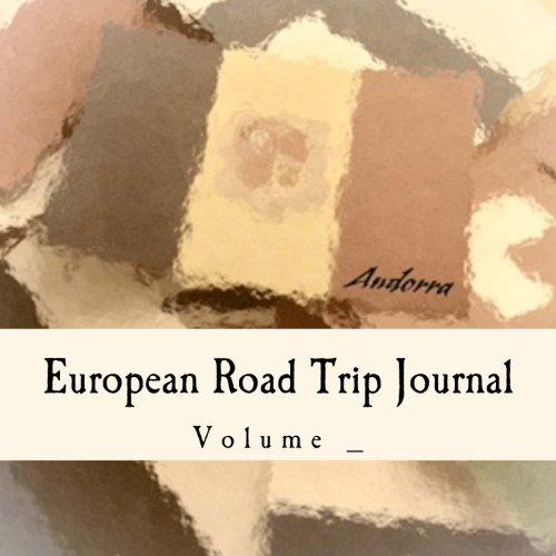 European Road Trip Journal: Andorra Flag Cover (S M Road Trip Journal)