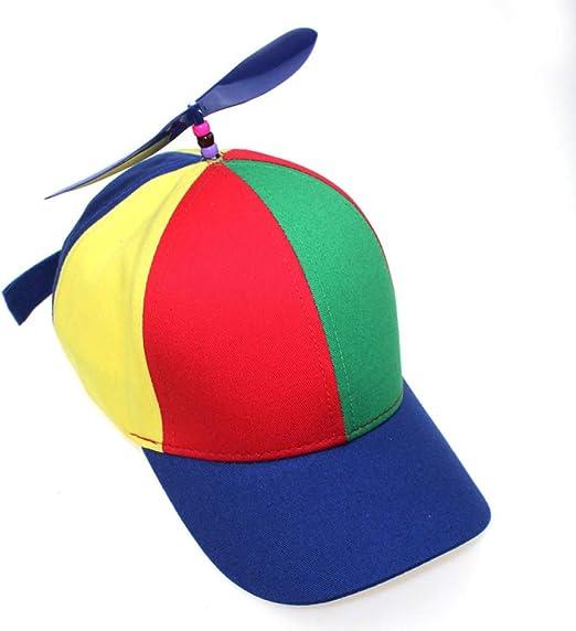 sdssup Sombrero de bambú con hélice, Gorra de béisbol, Primavera y ...