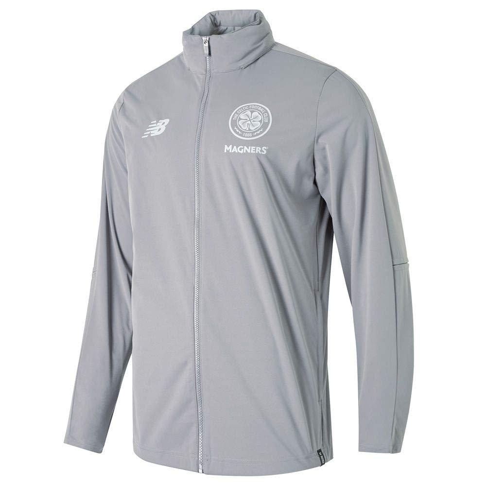 New Balance 2018-2019 Celtic Training Precision Rain Jacket (Grau)