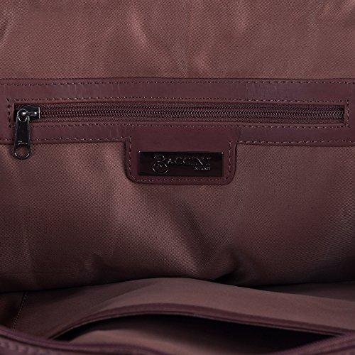 BACCINI Weekender GRETA - Reisetasche - Sporttasche - echt Leder braun