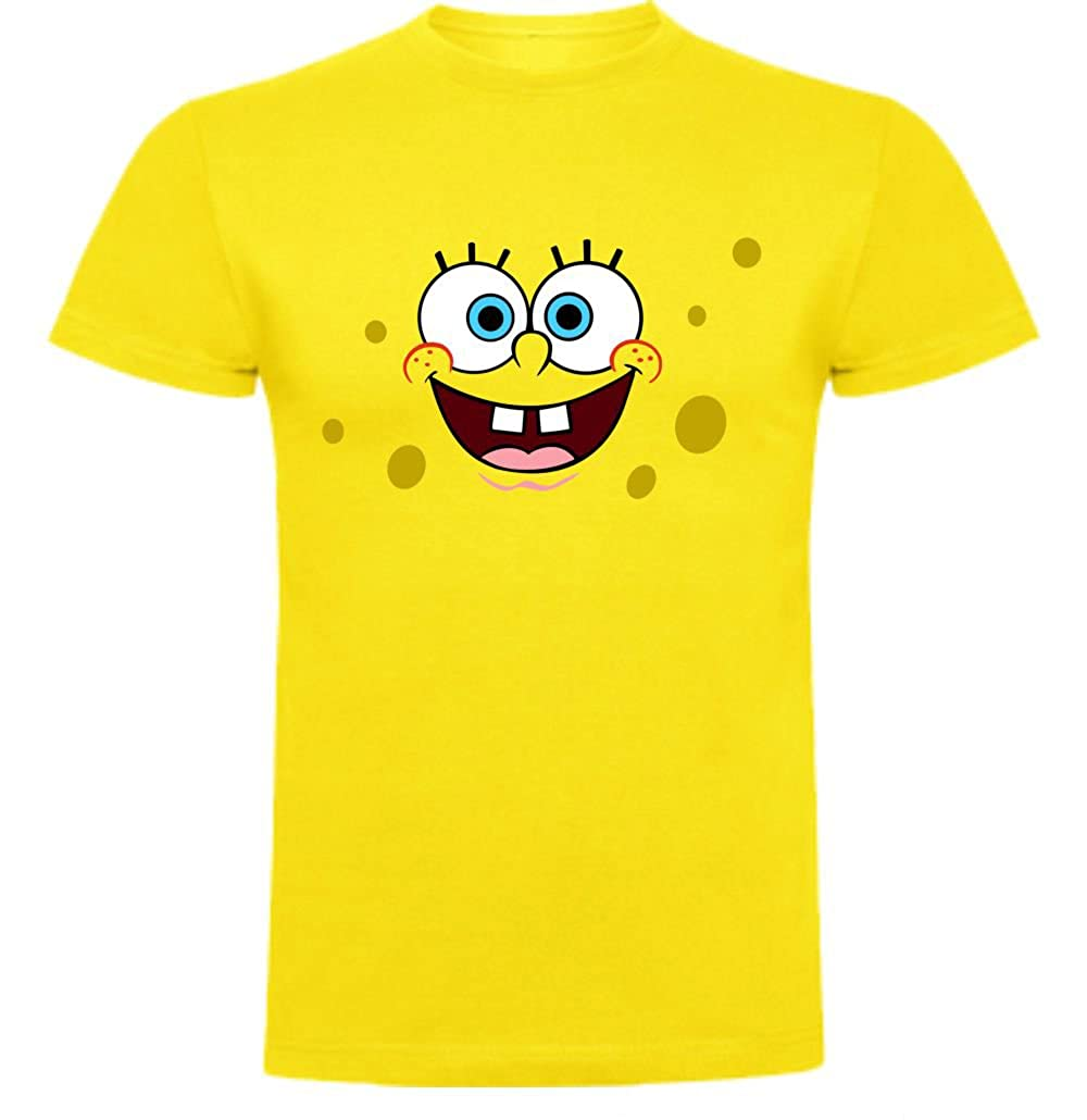 The Fan Tee Camiseta de Hombre Bob Esponja Dibujos Animados
