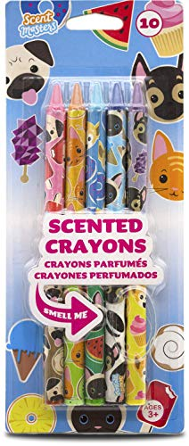 Scent Masters Scented Crayons - Cats & Dogs 10 Count - Crayon Dog