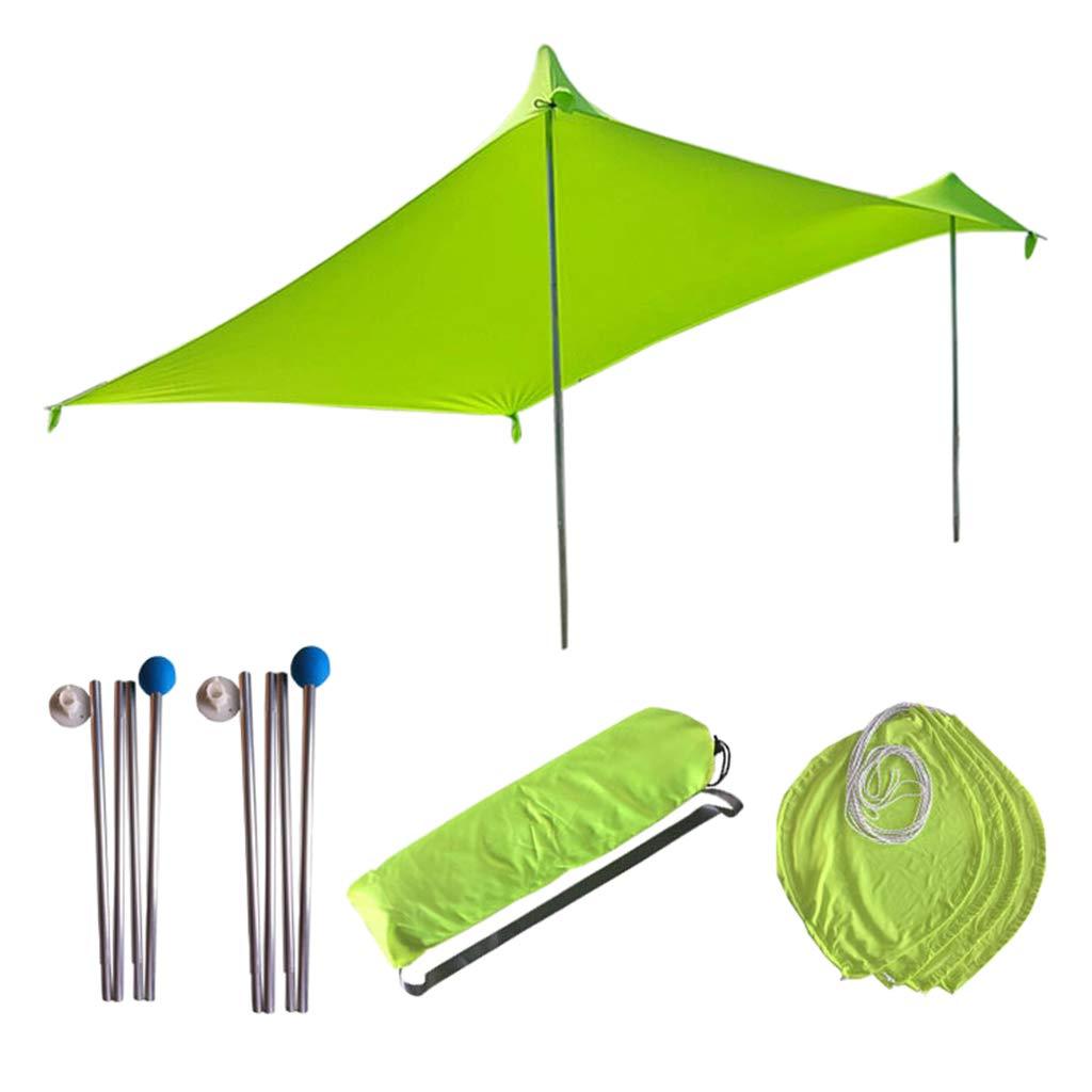 P Prettyia 1 Set Wasserdicht Zeltplane, Camping Zelt Sonnenschutz mit Tasche