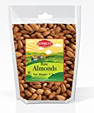 Cheap SUNBEST Whole Raw Almonds (Whole, Raw, Shelled, Unsalted) in Resealable Bag (3 Lb)