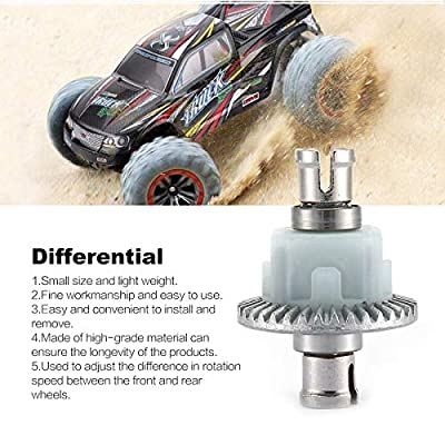 Rodalind Differential Gears Gearbox Gears Bearing Spare Parts Transmission Front and Rear Axle Differential for XLH 9125 RC Car: Toys & Games
