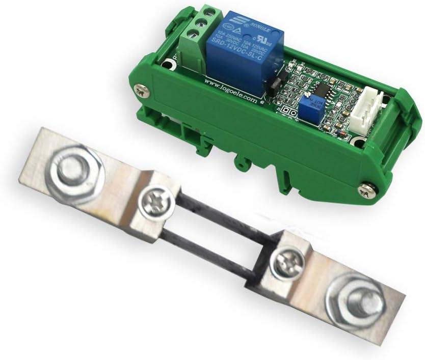 Homyl 1 STK Gr/ün 12V Stromerfassungssensor DC5V 200A Vollst/ändig Linear Einstellbar Mit Fu/ß