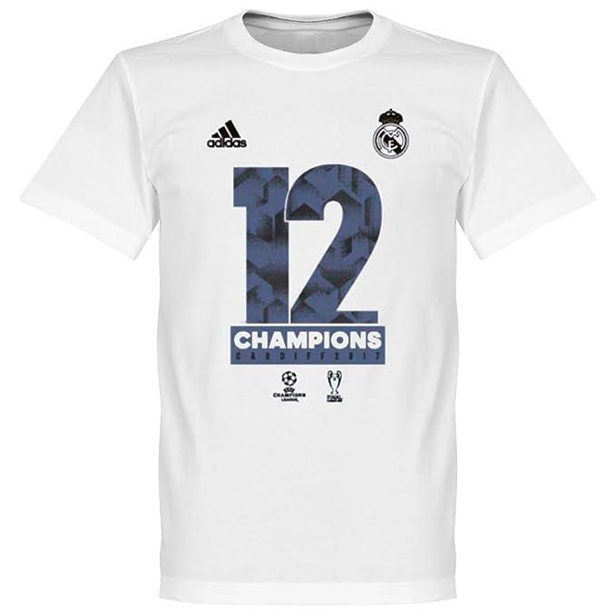 5f24aa28eb3 adidas Official Real Madrid Kids Champions League Winners Tee - XS / 128cm