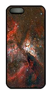 design covers carina nebula stars PC Black Case for iphone 5/5S