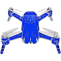 Skin For Yuneec Breeze 4K Drone – Blue Bandana | MightySkins Protective, Durable, and Unique Vinyl Decal wrap cover | Easy To Apply, Remove, and Change Styles | Made in the USA