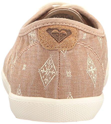 Roxy Womens Memphis Lace Up Chaussure Mode Sneaker Tan