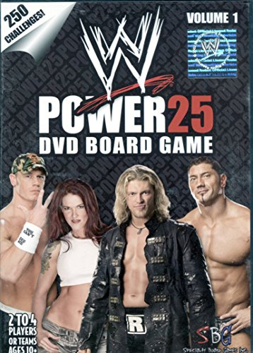 WWE: Power 25 DVD Board Game by Specialty Board Games