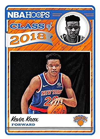 Amazon.com  2018-19 NBA Hoops Class of 2018 9 Kevin Knox New York ... 85aa6173a