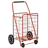 Sandusky FSC4021 Folding Shopping Cart, 110 lbs