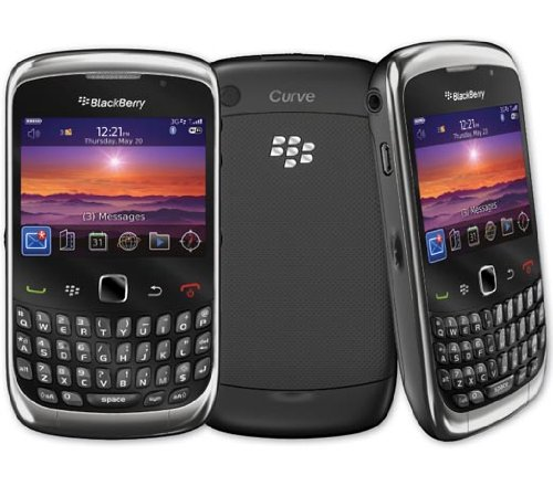 NEW AT&T BlackBerry Curve 3G 9300 No Contract GSM Global Camera RIM Smartphone (Rim Blackberry 3g)