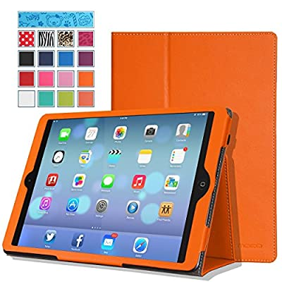 Moko Slim Folding Cover Case With Auto Wake / Sleep for Apple iPad Air iOS Tablet parent.
