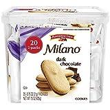 Pepperidge Farm Milano Cookie Tub, Dark Chocolate, 20 2pks, 15 Ounce
