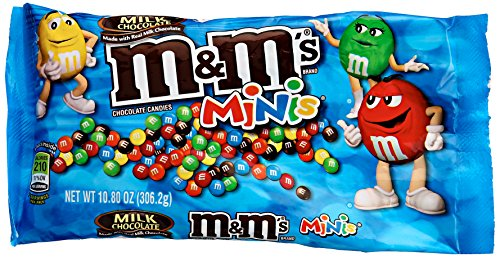 M&M's Minis Milk Chocolate Candy, 10.8 oz -