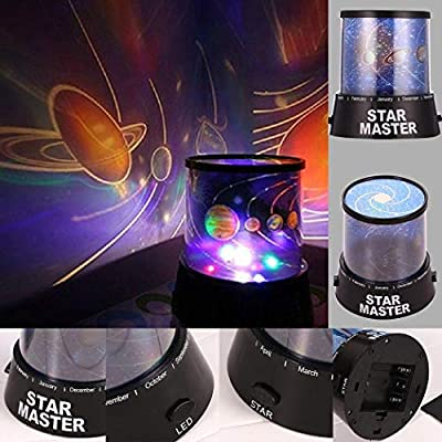 Opino LED Star Sky Night Light Home Room Party Decoration Projector Lamp Kids Gift Night Lights